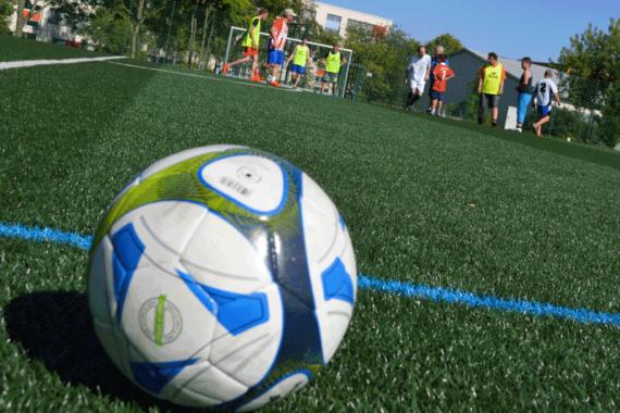 Training mit dem VfB Auerbach